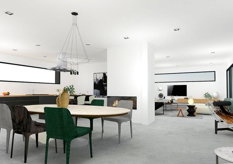 creation de l'espace vie dans une maison neuve-2-1