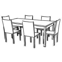 Meubles grenoble table chaise salle à manger